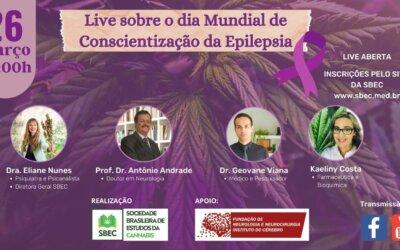 LIVE: Dia Internacional de Conscientização da Epilepsia