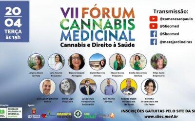VII Fórum Cannabis Medicinal da Cidade de São Paulo – Cannabis e Direito à Saúde