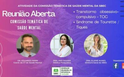 27/05 – REUNIÃO ABERTA DA CT DE SAÚDE MENTAL DA SBEC